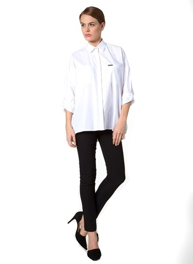 KAF'dan by Elaidi Gömlek Beyaz
